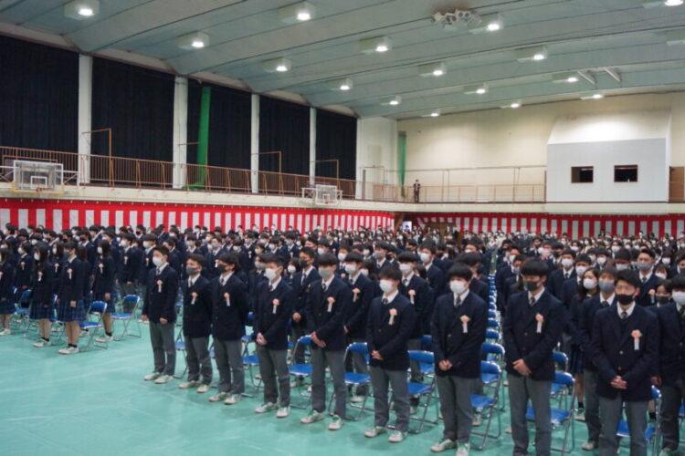 第35回 卒業証書授与式 卒業おめでとう!