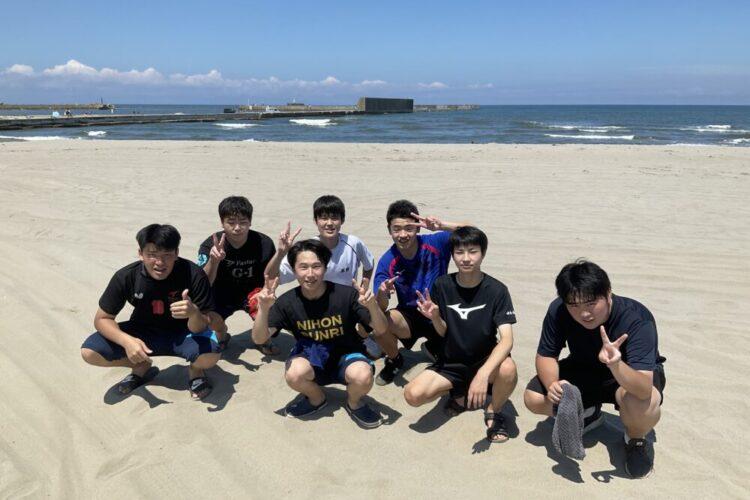 男子卓球部の夏休み