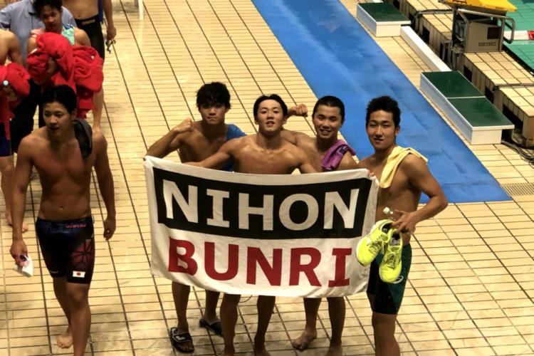 水泳部 全国ジュニアオリンピックカップ7位入賞!